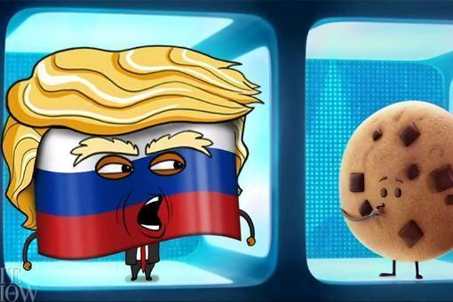ВСША показали пародийный трейлер сТрампом в«роли» русского флага
