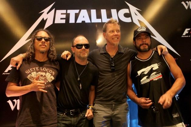 Metallica стала самой стриминговой метал-группой вмире