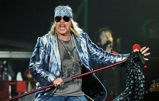 Guns N' Roses задержали наканадской границе запопытку провоза оружия