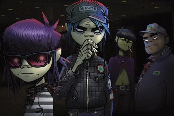 Gorillaz выпустили 1-ый клип за6 лет, ионкрут!