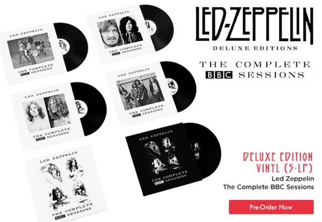 Led Zeppelin выпускают THE COMPLETE BBC SESSIONS
