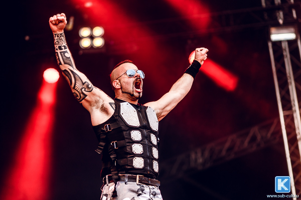Sabaton на Tuska Open Air 2015