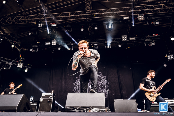 Architects на Tuska Open Air 2015
