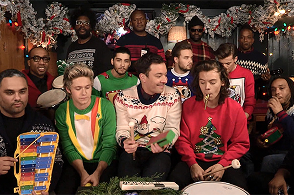 One Direction - Santa Claus Is Coming to Town