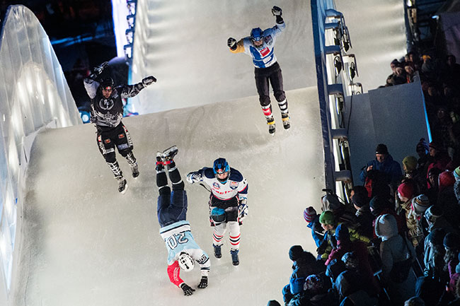 Red Bull Crashed Ice - Quebec (22.03.2014)