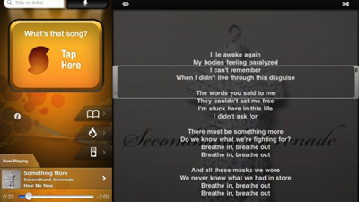 iPad-SoundHound
