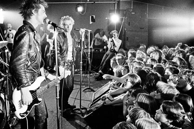 Punk rock: the philosophy of riot Sex Pistols