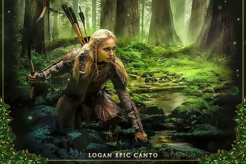 Logan Epic Canto Forest Kingdom