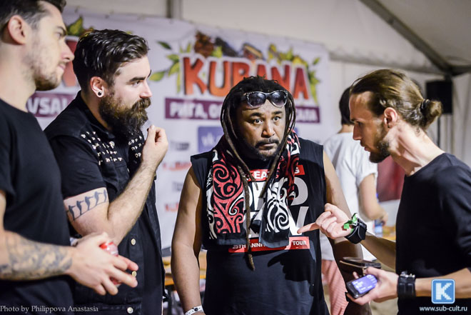 Skindred на Кубане