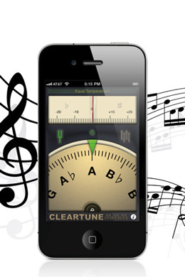ClearTune iPhone